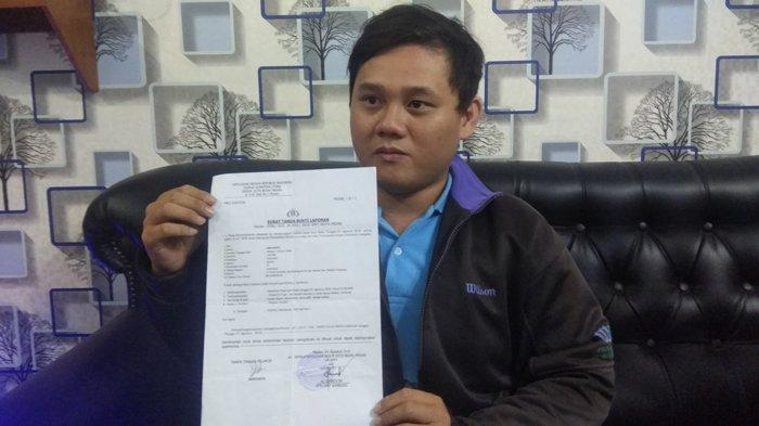 Dianggap Melakukan Pencemaran Nama Baik Hermianto Laporkan Jurnalis Ke Polisi Tribun Medan