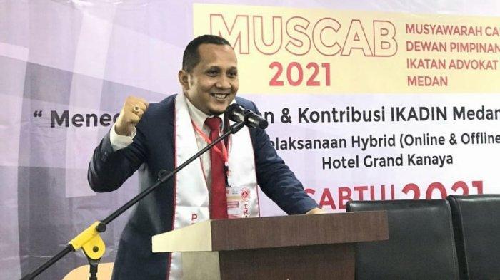 Sah, Hisar Parsaoran Sinaga Terpilih sebagai Ketua DPC Ikadin Medan Periode 2021-2025
