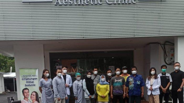 Hari Lingkungan Hidup Sedunia, MS Glow Gratiskan Infus Immune Booster untuk Petugas Kebersihan