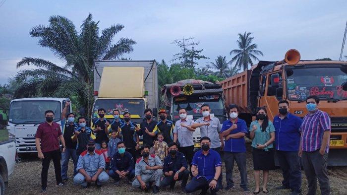 Sambut Lebaran, Astra Isuzu Medan Gelar Service Clinic Bersama Komunitas MTIC