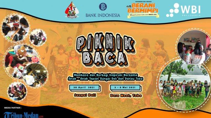 Piknik Baca, Program KKN Mahasiswa Politeknik WBI yang Turut Didukung oleh Bank Indonesia