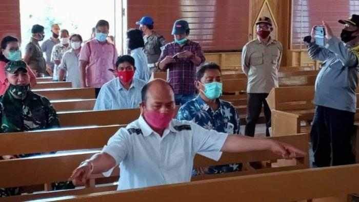 Jelang Berlakunya New Normal, HKBP Kantor Pusat Pearaja Gelar Ibadah Mulai Besok