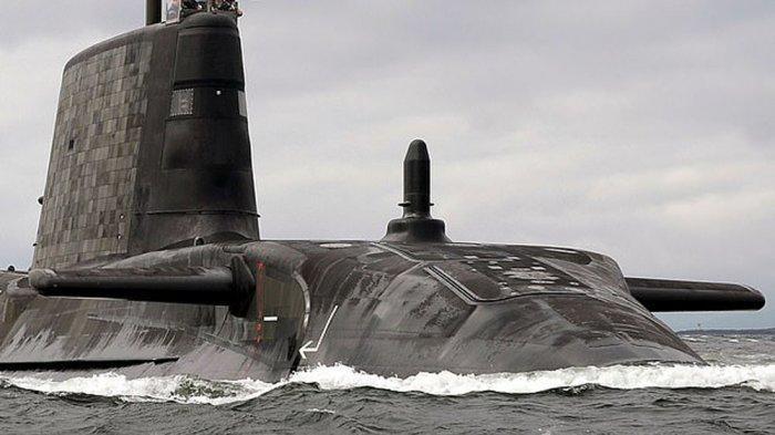 Kapal selam siluman milik Inggris HMS Artful