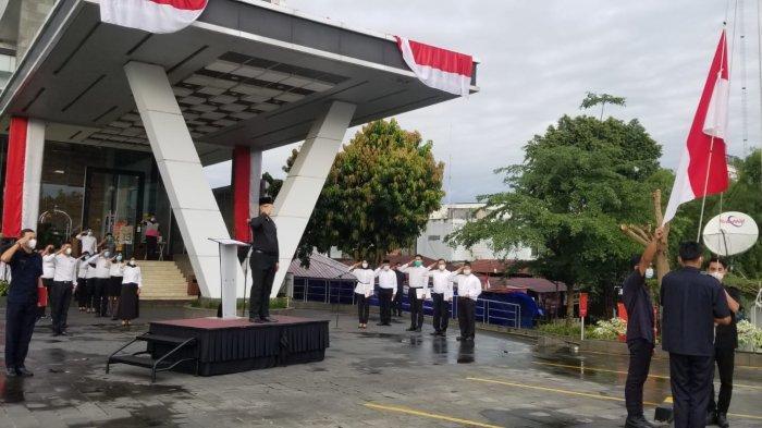 Hotel GranDhika Setiabudi Medan Rayakan HUT RI ke-76 Bersama Veteran Kota Medan