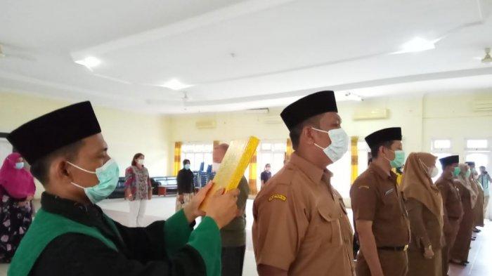 Delapan Kepala UPT Puskesmas Resmi Dilantik, Sekda Langkat Berikan Arahan Penting