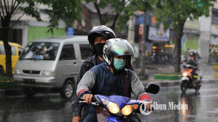 Sore Ini, Beberapa Wilayah di Sumut Bakal Dilanda Hujan Lebat