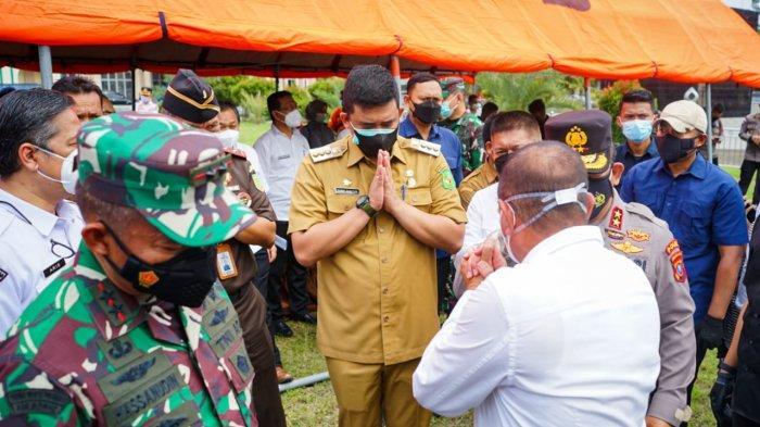 Bobby Nasution: Positif Covid-19 di Kota Medan Menurun, Masyarakat Harus Tetap Displin Prokes