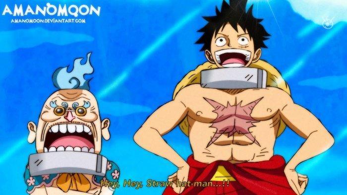 Hyogoro Si Bunga dan Monkey D Luffy -