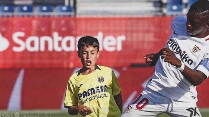 Masih Kanak Kanak Kapten Tim U 12 Sevilla Punya Tubuh Menjulang Mirip Lukaku Saat Berusia 12 Tahun Tribun Medan