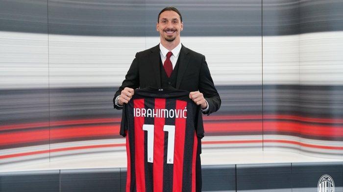 Zlatan Ibrahimvoic Resmi Perpanjang Kontrak Bersama AC Milan hingga Berusia 40 Tahun
