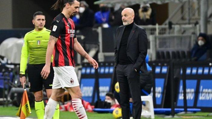 TARGET Utama AC Milan Lolos Zona Liga Champions Terancam, Nasib Pioli Kini Di Ujung Tanduk