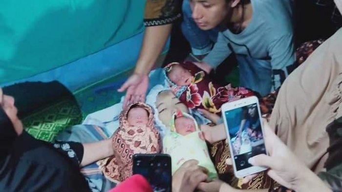 Ibu Muda Dina Nasution Meninggal setelah Lahirkan 3 Bayi Kembar Perempuan