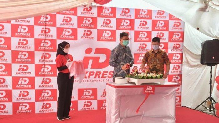 IDexpress Buka Gerai Flagship di Medan, Promo Kirim 4 Kg Bayar 1 Kg