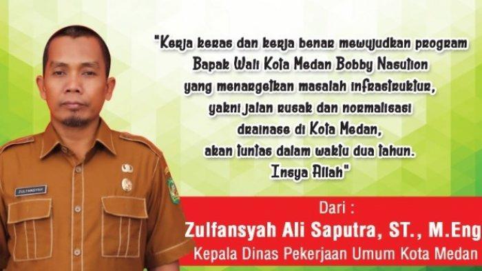 HUT ke-431 Kota Medan, Zulfansyah: Siap Kerja Keras dan Kerja Benar Wujudkan Program Wali Kota