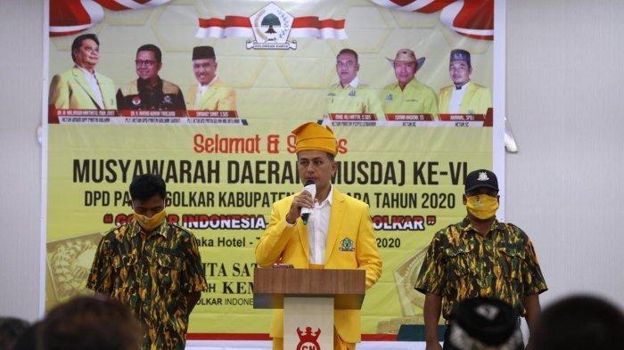 Wagub Ijeck Berambisi Jadi Ketua Golkar dan Roadshow Minta Dukungan Pengurus DPD