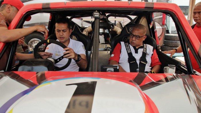 Wakil Gubernur terpilih Sumatera Utara, Musa Rajekshah, mengikuti ajang Kejuaraan Nasional