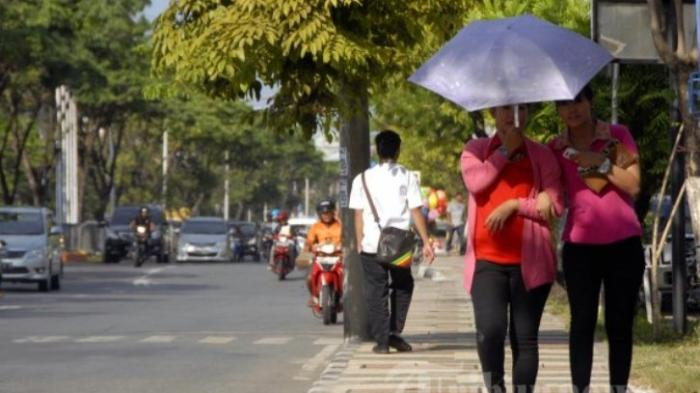 Suhu Udara Panas di Medan Capai 35,2 Celcius, Ini Penyebabnya