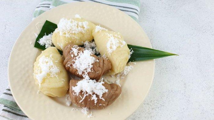 Resep dan Cara Membuat Kue Basah Getuk Lindri