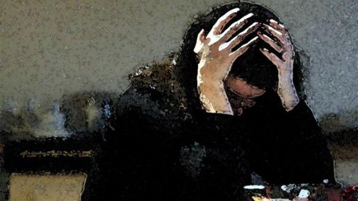 Ilustrasi pemerkosaan dan KDRT. (Press Association via BBC)