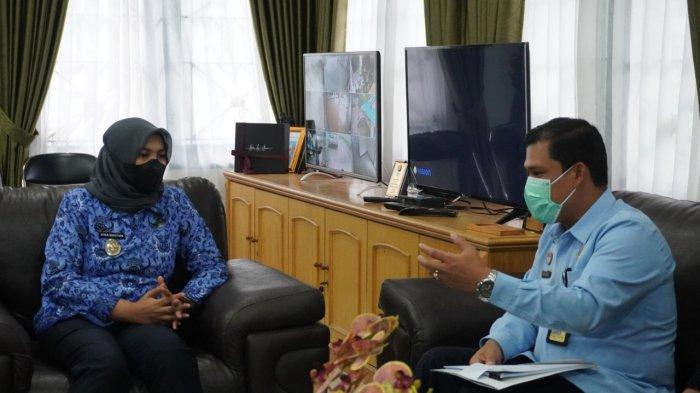 Kebut Pembentukan UKK di Mandailing Natal, Kepala Kantor Imigrasi Sibolga Sambangi Wakil Bupati