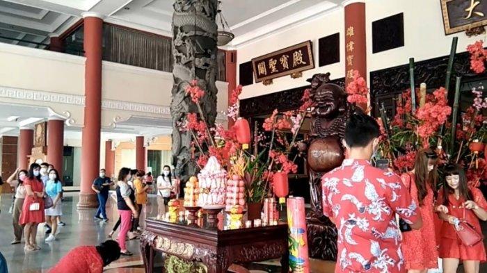 Perayaan Imlek di Maha Vihara Maitreya Lebih Sederhana, Pengurus Minta Warga Patuhi Prokes