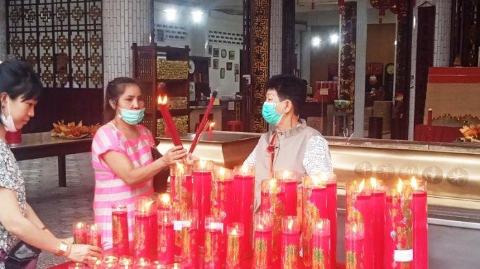 Ibadah Perayaan Imlek di Patung Dewi Kwan Im Siantar Berlangsung Sederhana