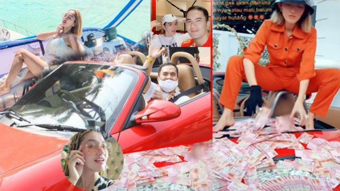 Potret Indah Sari menghamburkan uang dan jemput Saipul Jamil dengan mobil mewahnya.