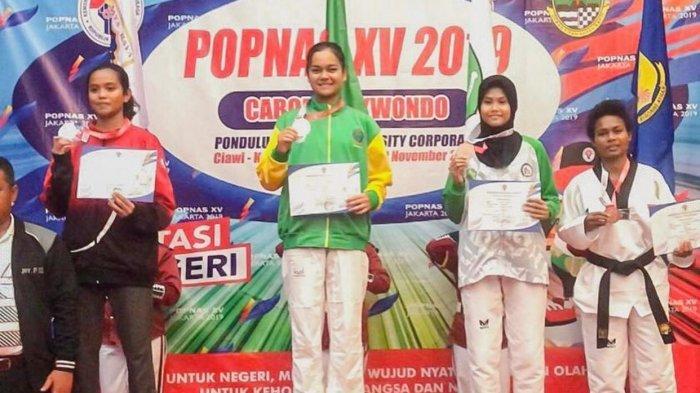 Taekwondoin Inggrid Sembiring Jadi Polwan, Bagaimana Karier Atletnya?
