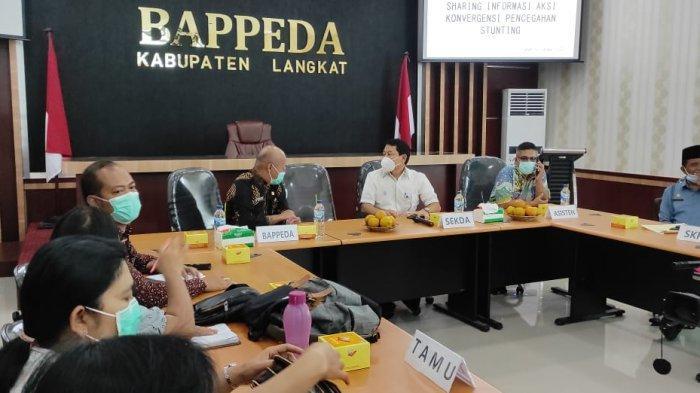 Maksimalkan Pencegahan Stunting, Pemkab Karo Studi Banding ke Pemkab Langkat