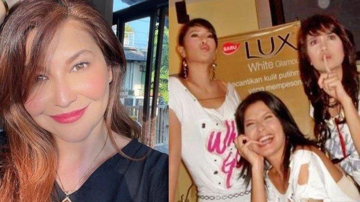 Nostalgia Foto Jadul Tamara Bleszynski Bareng Luna Maya dan Dian Sastro Berpose untuk Iklan Sabun