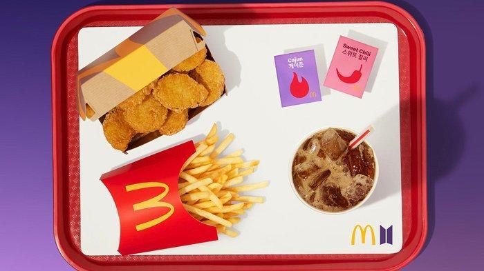 INILAH Isi Paket Menu Spesial BTS Meal McDonalds