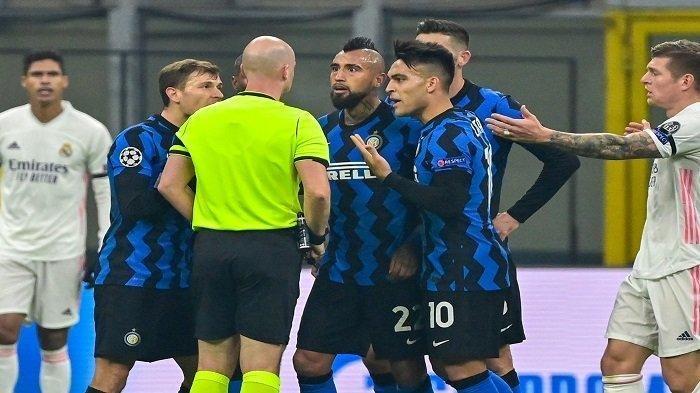 JELANG Jadwal Liga Champions Inter Milan Vs Real Madrid, Inzaghi Pilih Vidal, Cadangkan Calhanoglu