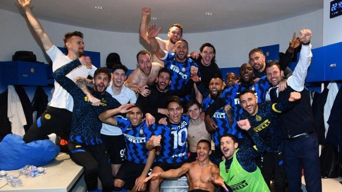 Inter Milan berhasil memenangi laga krusial melawan Atalanta di Giuseppe Meazza dalam lanjutan Liga Italia, Senin (8/3/2021) atau Selasa dini hari WIB.