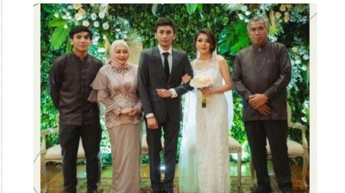 Pernikahan Irshadi Bagas dan Larasati Ayuningrum