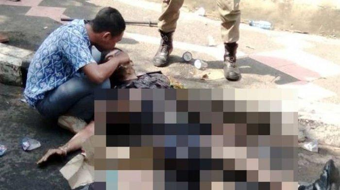 KISAH SISWA SMK saat Menolong Polisi Aiptu Erwin Tergeletak di Jalan akibat Luka Bakar di Tubuhnya