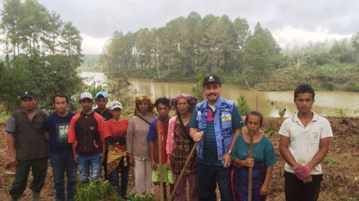 Dukung Danau Toba Jadi UNESCO Global Geoparks, ISKA Sumut Tanam 2 Ribu Pohon