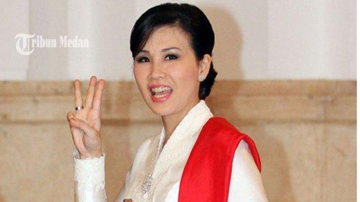 Makin Kinclong Dicerai Ahok, Penampilan Veronica Tan Pancing Mata Netizen,Gaya Rambut Buat Terpesona