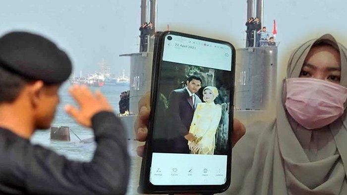 Air Mata Istri Serda Guntur Tumpah, Ceritakan Suaminya Pergi Tugas Berlayar dengan KRI Nanggala-402
