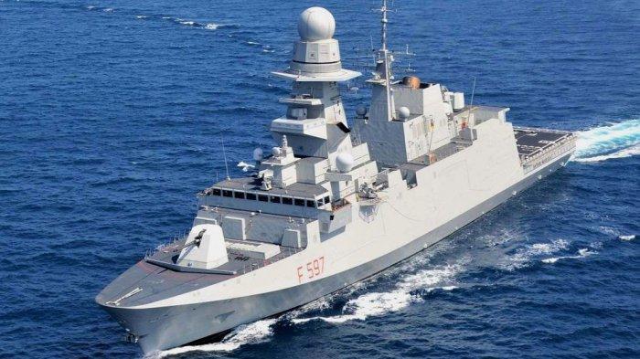 PRABOWO Borong 6 Kapal Perang Canggih Italia Fregat FREMM Seharga Rp 72 Triliun