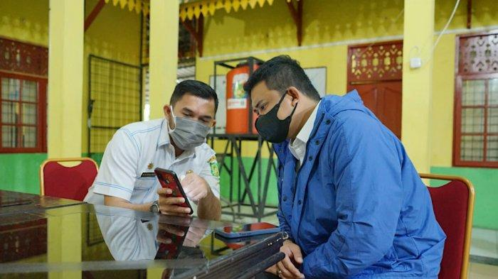 Bobby Nasution Puji Kinerja Camat Medan Tuntungan, Dinilai Berhasil Terapkan Isolasi Lingkungan