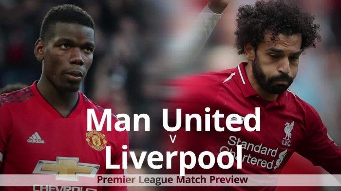 LINK LIVE STREAMING Manchester United vs Liverpool, Jadwal Sheffield United vs Arsenal, Laga Lainnya