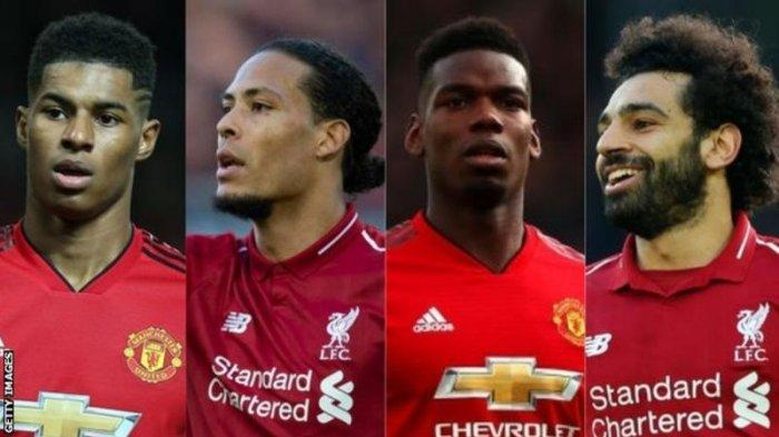 LINK LIVE STREAMING Manchester United vs Liverpool, Jadwal Sheffield United vs Arsenal dan Klasemen