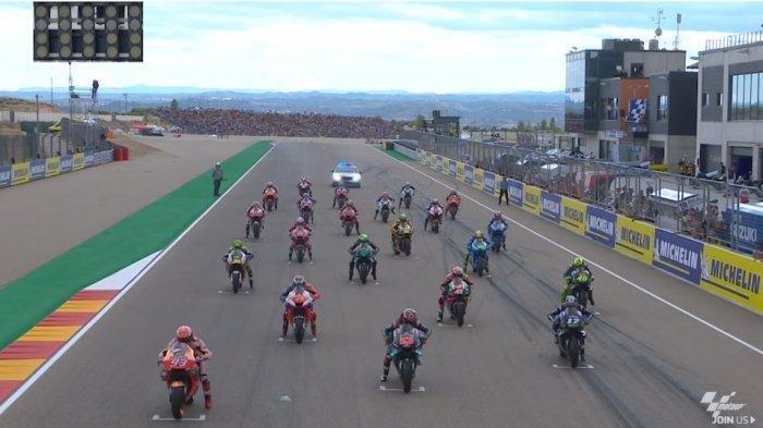 LIVE TRANS7: Link Live Streaming MotoGP Valencia, Siaran Langsung MotoGP Berlangsung Sesaat Lagi