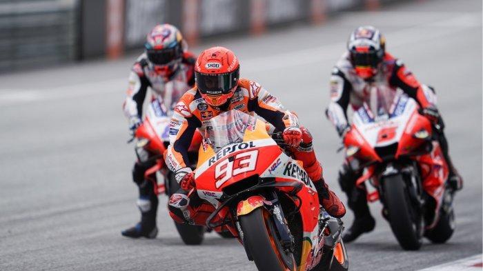 UPDATE MotoGP - Dua Kali Menang di MotoGP 2021, Marc Marquez Masih Dihantui Cedera