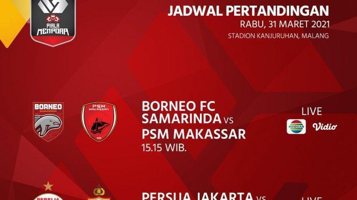 SEDANG BERLANGSUNG Borneo VS PSM Makassar, Akses Di Sini Live Streaming Gratis dari HP