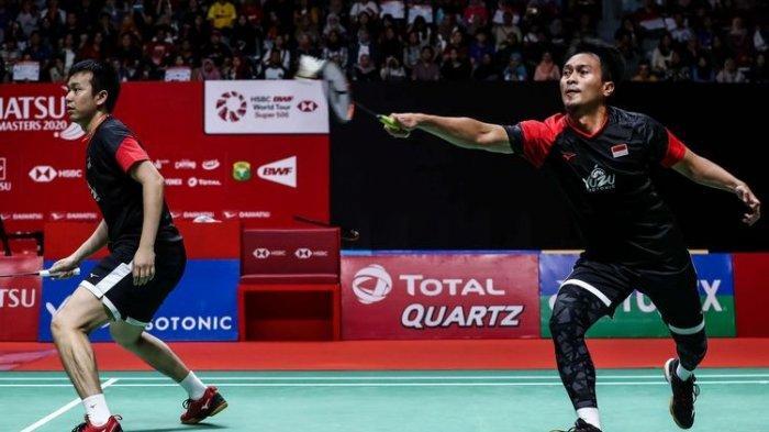 JADWAL Thailand Open 2021 Hari Ini Rabu (13/1/2021), Ahsan/Hendra Harus Duel Perang Saudara