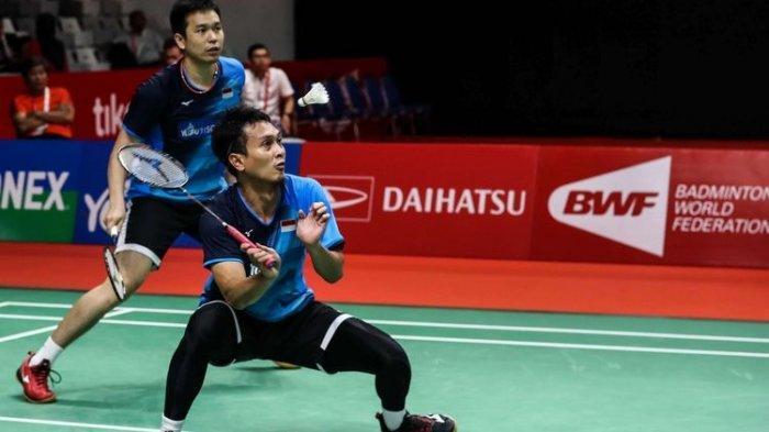 JADWAL Badminton Olimpiade Tokyo 2021, Ahsan/Hendra Akui Hasil Undian Mereka Cukup Berat