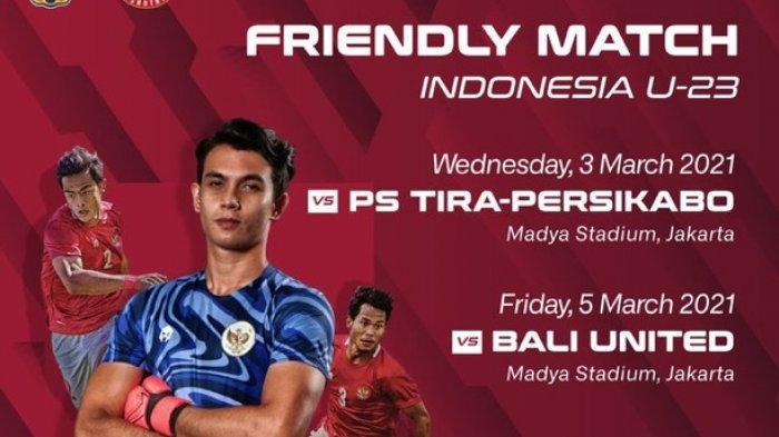 PENYEBAB Laga Timnas Indonesia U-23 vs Tira Persikabo Batal Digelar, Pemain Disuruh Pulang