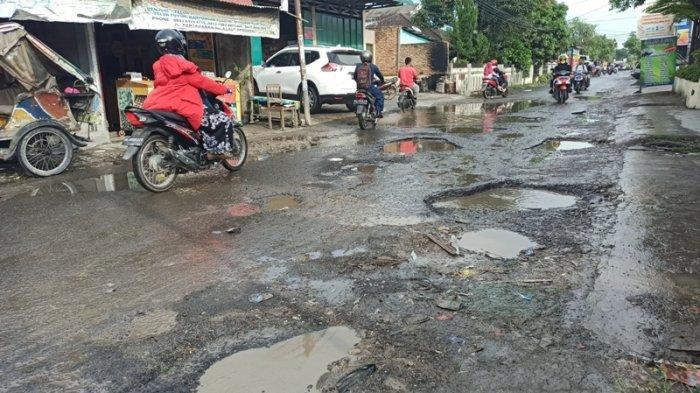 Jalan Kapten Batu Sihombing Lau Dendang Rusak, Kadis PU Deliserdang Sebut Akan Diperbaiki 2021