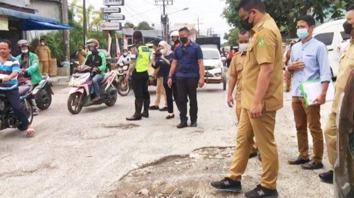 Panjang Jalan Rusak di Medan yang Diperbaiki Masih 815 Meter